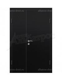 Двухстворчатая металлическая дверь 03-72