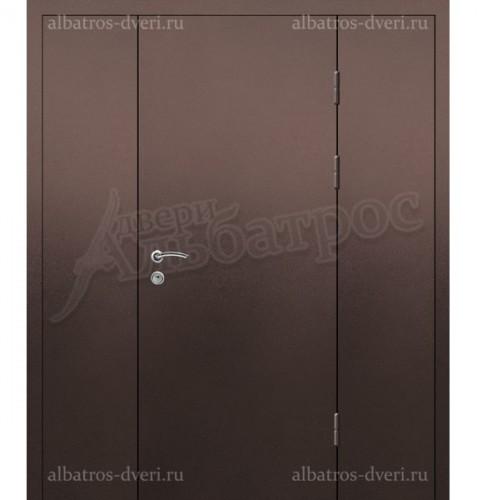 Входная металлическая нестандартная дверь 03-80