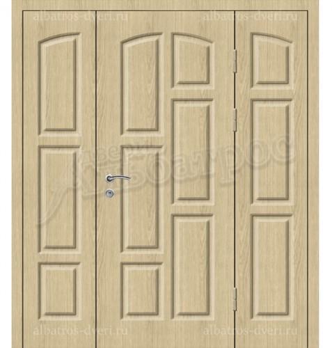 Входная металлическая нестандартная дверь 03-81
