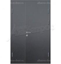 Двухстворчатая металлическая дверь 03-82