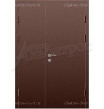 Двухстворчатая металлическая дверь 03-83