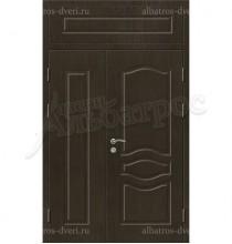 Двухстворчатая металлическая дверь 03-85