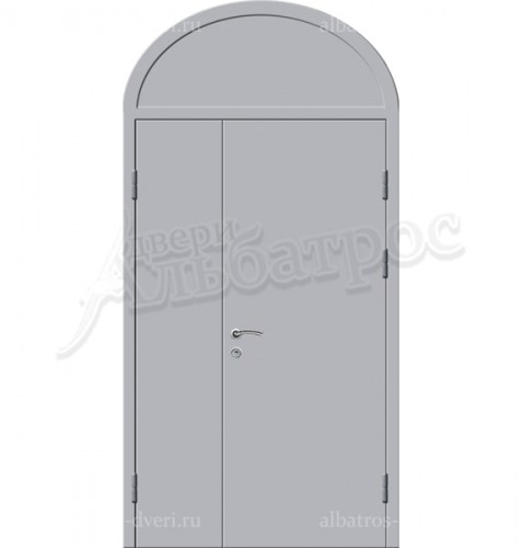 Входная металлическая нестандартная дверь 03-86