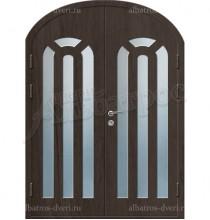 Двухстворчатая металлическая дверь 03-88