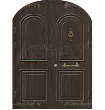 Двухстворчатая металлическая дверь 03-89