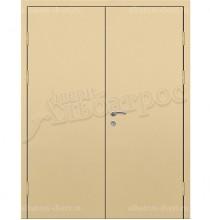 Двухстворчатая металлическая дверь 03-94