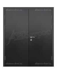 Двухстворчатая металлическая дверь 03-95