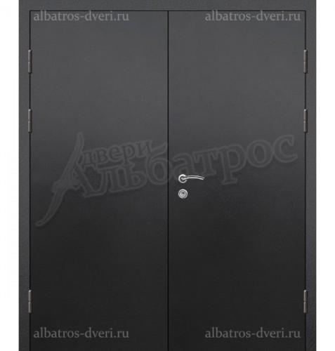 Входная двухстворчатая металлическая нестандартная дверь 03-95