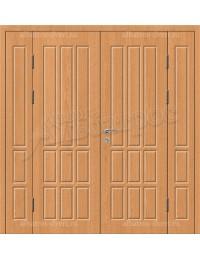 Двухстворчатая металлическая дверь 03-96