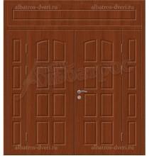 Двухстворчатая металлическая дверь 03-97