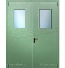 Двухстворчатая металлическая дверь 00-20