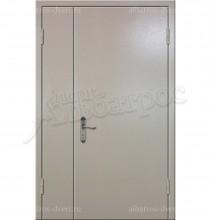 Двухстворчатая металлическая дверь 00-21