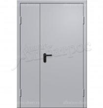 Двухстворчатая металлическая дверь 00-43