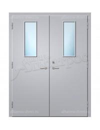 Двухстворчатая металлическая дверь 00-49
