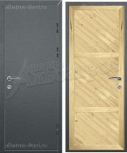 Входная металлическая нестандартная дверь - НД-022