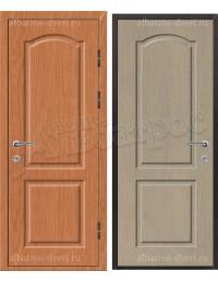 Входная металлическая нестандартная дверь - НД-024