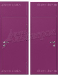 Входная металлическая нестандартная дверь - НД-005