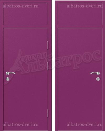 Входная металлическая нестандартная дверь 03-74