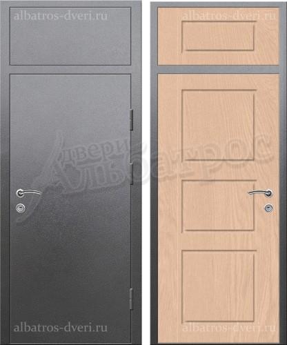 Входная металлическая нестандартная дверь 03-76