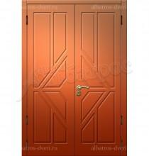Двухстворчатая металлическая дверь 00-30