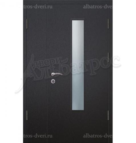 Парадная металлическая дверь в загородный дом, коттедж 13-001