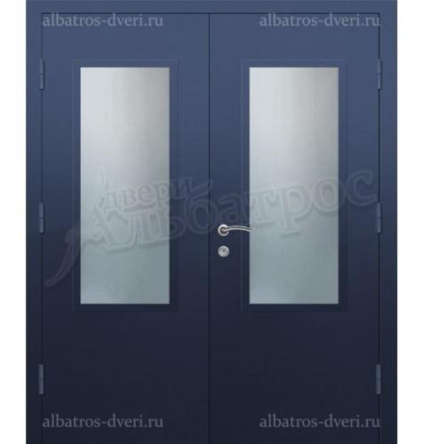 Парадная металлическая дверь в загородный дом, коттедж 13-003