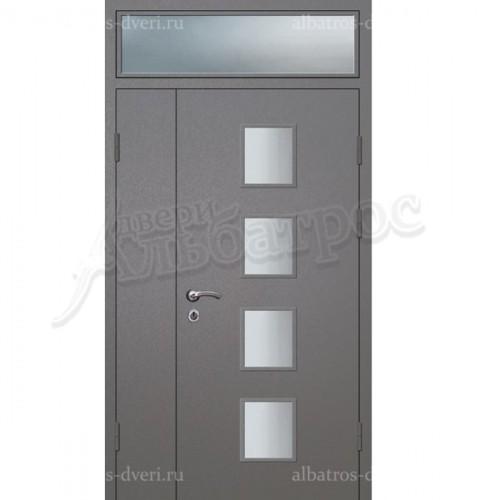 Парадная металлическая дверь в загородный дом, коттедж 13-005