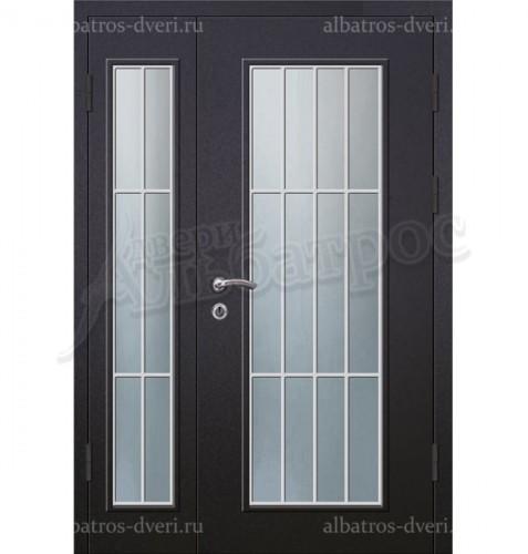 Парадная металлическая дверь в загородный дом, коттедж 13-006