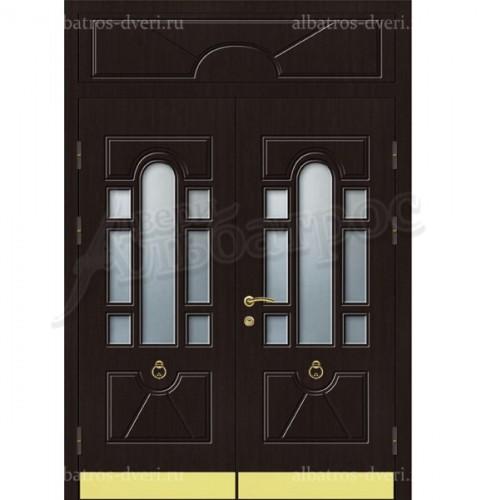Парадная металлическая дверь в загородный дом, коттедж 13-007