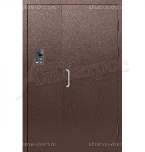 Входная металлическая дверь с домофоном в подъезд 04-10