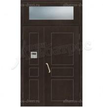 Двухстворчатая металлическая дверь 04-15