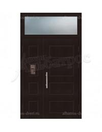Двухстворчатая металлическая дверь 04-16