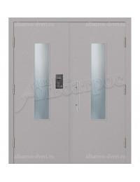 Двухстворчатая металлическая дверь 04-17