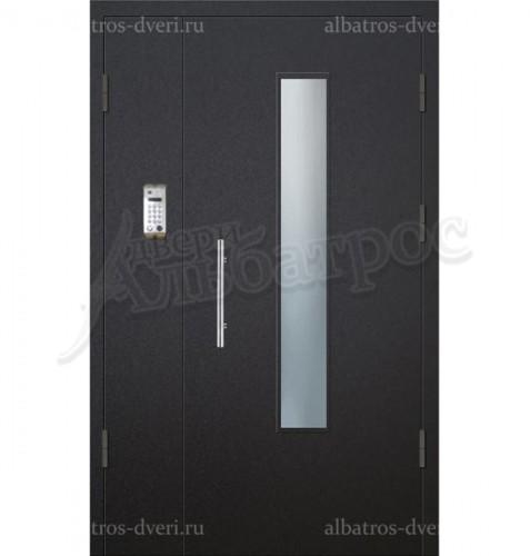 Двухстворчатая металлическая дверь 05-30