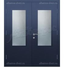 Двухстворчатая металлическая дверь 05-32