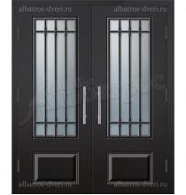 Двухстворчатая металлическая дверь 05-33