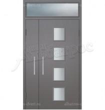 Двухстворчатая металлическая дверь 05-34