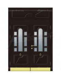 Двухстворчатая металлическая дверь 05-36