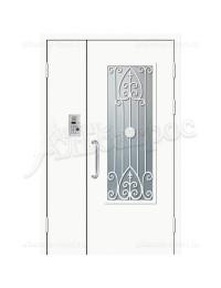 Двухстворчатая металлическая дверь 06-80