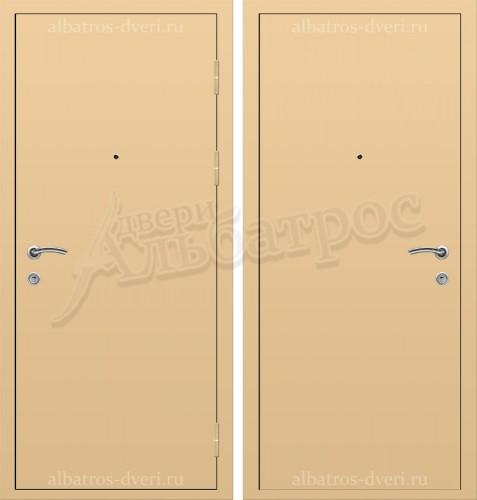 Входная дверь из стали 3+2 мм с порошковым покрытием 06-75