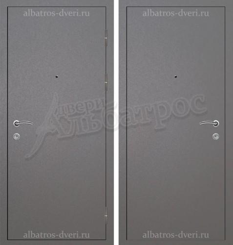 Входная дверь из стали 3 мм с антивандальным покрытием Антик Серебро 06-77