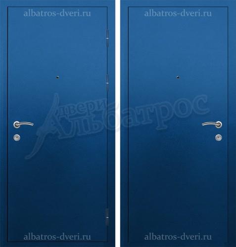 Стальная дверь с усиленным притвором и порошковой отделкой 06-78