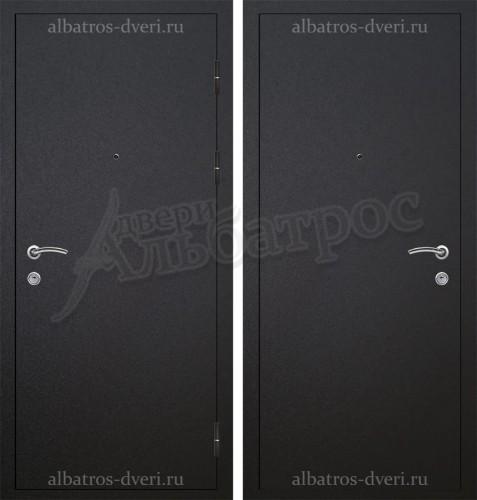 Металлическая дверь с противосъемом и порошковым покрытием 06-79