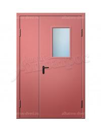 Двухстворчатая металлическая дверь 00-22