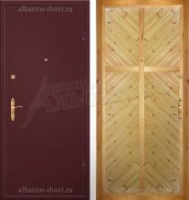 Входная металлическая дверь 00-52