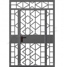 Входная металлическая дверь 00-55