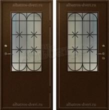 Входная металлическая дверь 00-37