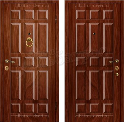 Металлическая, взломостойкая дверь с повышенной шумоизоляцией и теплоизоляцией - Модель 199