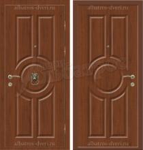 Уличная дверь с молотком, модель 17-004