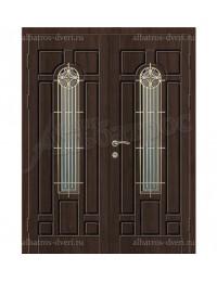 Двухстворчатая металлическая дверь 05-16